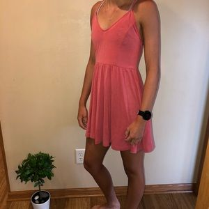 NWT!! Peach mini dress